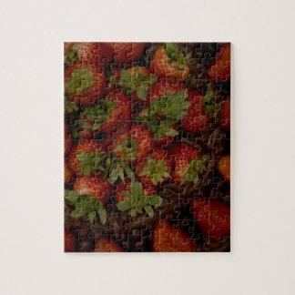 Chocolate Strawberry Cake Puzzle