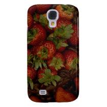Chocolate Strawberry Cake Samsung S4 Case