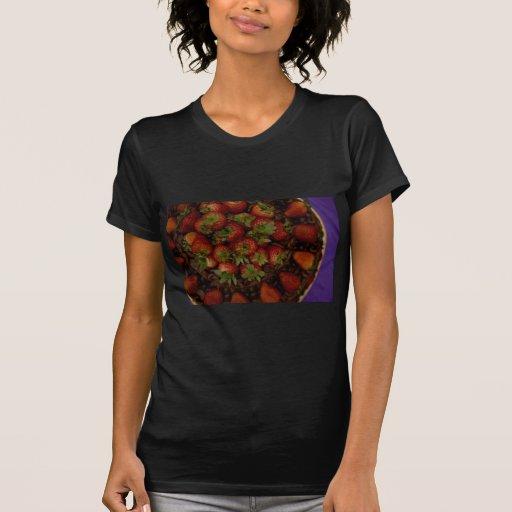 Chocolate Strawberry Cake T-shirt