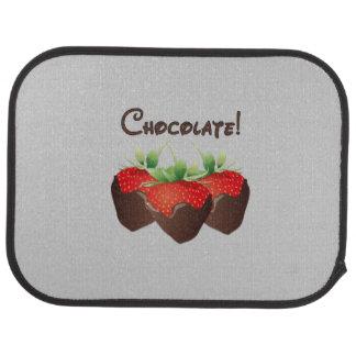 Chocolate Strawberry Car Floor Mat