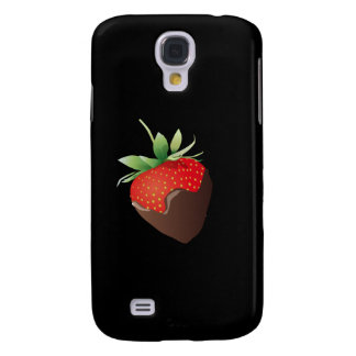 Chocolate Strawberry Galaxy S4 Covers