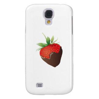 Chocolate Strawberry Samsung Galaxy S4 Case