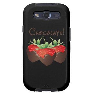 Chocolate Strawberry Samsung Galaxy SIII Case