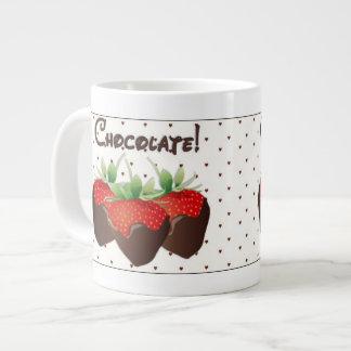 Chocolate Strawberry Giant Coffee Mug