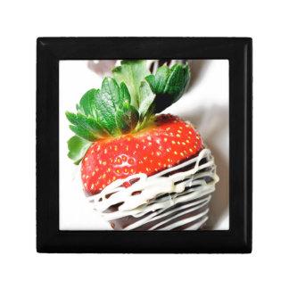 Chocolate strawberry! jewelry box