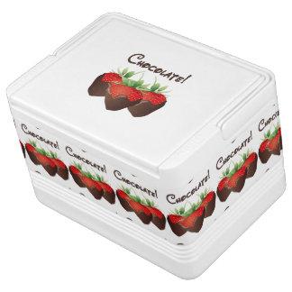 Chocolate Strawberry Igloo Drink Cooler