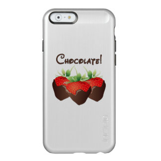 Chocolate Strawberry Incipio Feather Shine iPhone 6 Case