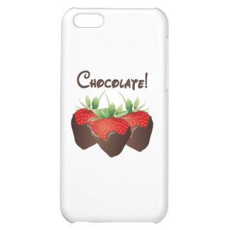 Chocolate Strawberry iPhone 5C Case