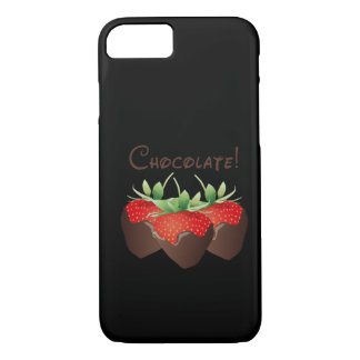 Chocolate Strawberry iPhone 7 Case
