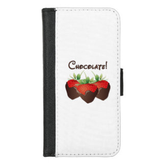 Chocolate Strawberry iPhone 8/7 Wallet Case