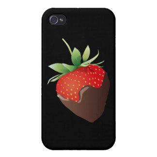 Chocolate Strawberry iPhone 4 Cases