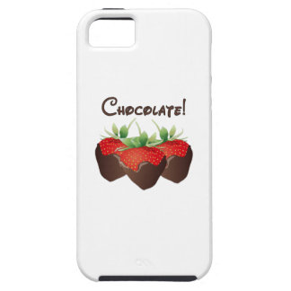 Chocolate Strawberry iPhone SE/5/5s Case