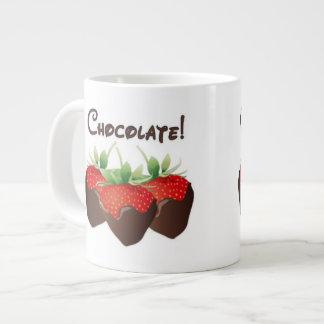 Chocolate Strawberry Large Coffee Mug