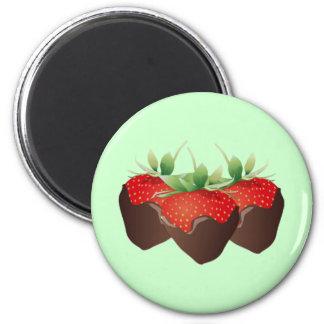 Chocolate Strawberry Refrigerator Magnet