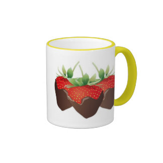 Chocolate Strawberry Mug