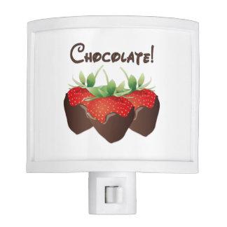 Chocolate Strawberry Night Light