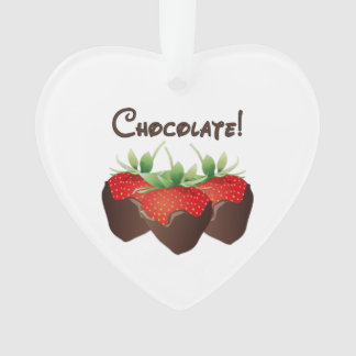 Chocolate Strawberry Ornament