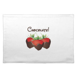 Chocolate Strawberry Placemat