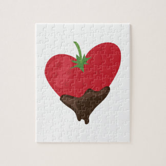Chocolate Strawberry Jigsaw Puzzle