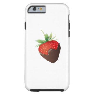 Chocolate Strawberry Tough iPhone 6 Case