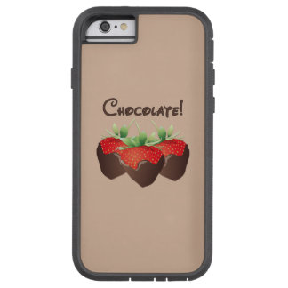 Chocolate Strawberry Tough Xtreme iPhone 6 Case