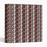 CHOCOLATE Strips Cool Shade Binder File NavinJoshi