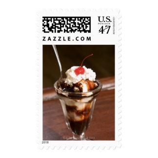 Chocolate sundae postage