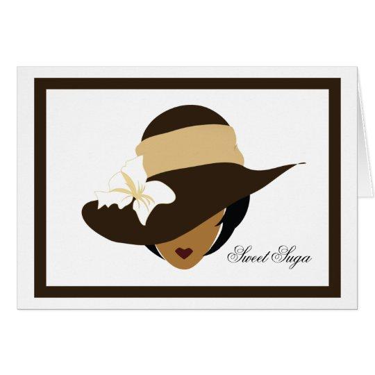 Chocolate Sweet Suga Note Card