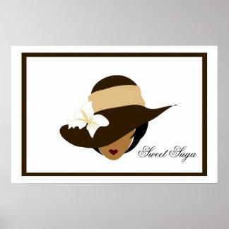 Chocolate Sweet Suga Poster