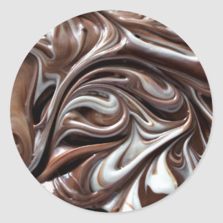 chocolate swirl big stickers