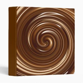 Chocolate swirl binder