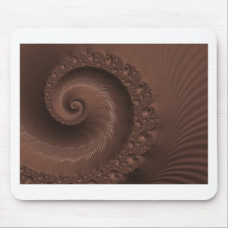 Chocolate Swirl Fractal Mousepads