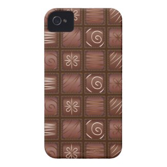 Chocolate Tablet Bar iPhone 4 Case