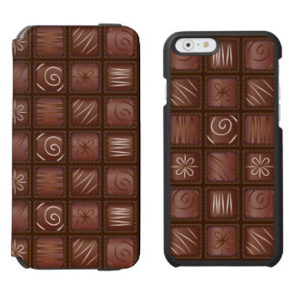 Chocolate Tablet Bar iPhone 6/6s Wallet Case