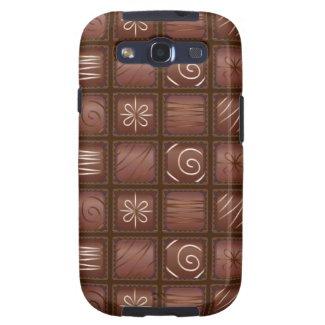 Chocolate Tablet Bar Samsung Galaxy S3 Case