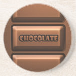 Chocolate Tablet Drink Coaster