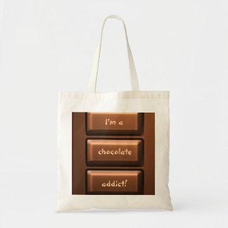Chocolate Tablet Tote Bag