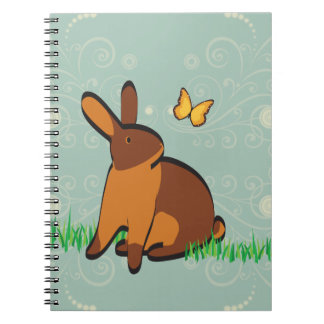 CHOCOLATE TANS IN THE GRASS NOTEBOOKS