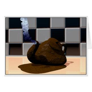 Chocolate Teapot Card