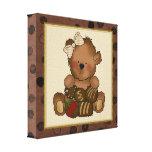 Chocolate Teddy Bear canvas Print