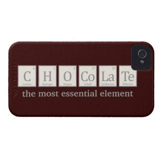 Chocolate, the most essential element iPhone 4 case