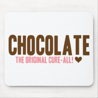 Chocolate - The Original Cure-All Mouse Pad