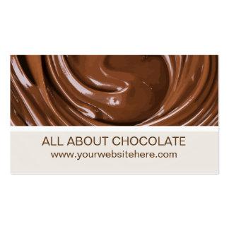 Chocolate Theme Business Card