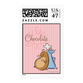 Chocolate Timbres Postales