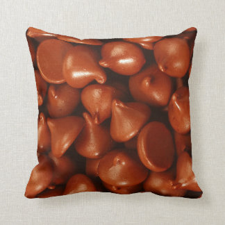 Chocolate to lover throw pillows