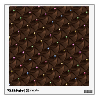 Chocolate Topping Wall Decal