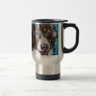 Chocolate Tri Australian Shepherd Mug