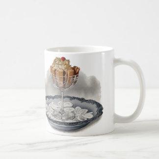 Chocolate Trifle Vintage Dessert Coffee Mug