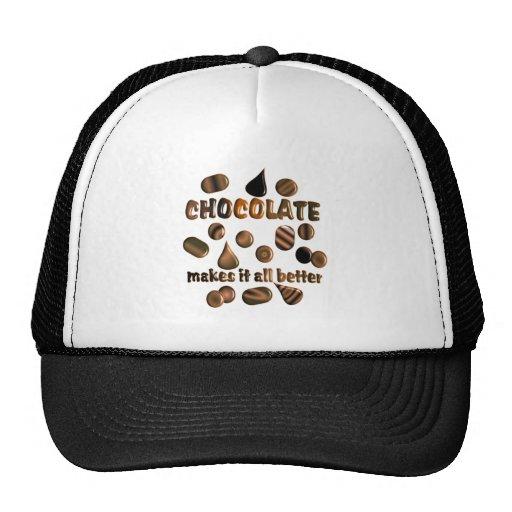 Chocolate Trucker Hat