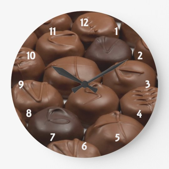 Chocolate Truffle Clock